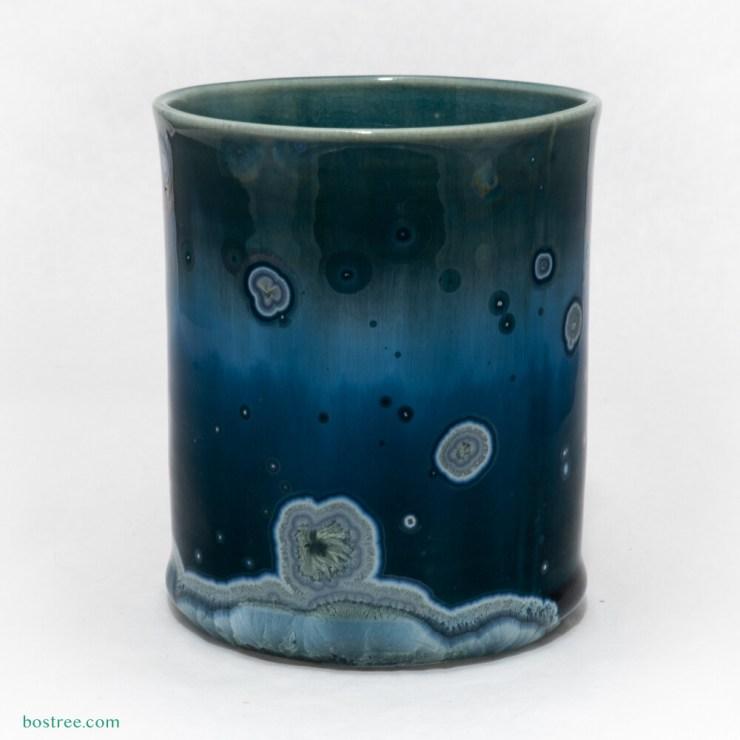 Crystalline Glaze Tumbler 12oz by Andy Boswell - Slightly Irregular