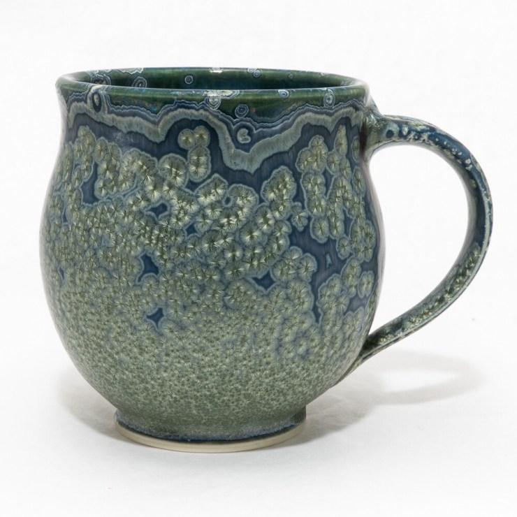 Crystalline Glaze Mug by Andy Boswell 01167