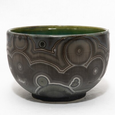 Crystalline Glaze Bowl by Andrew Boswell 01177
