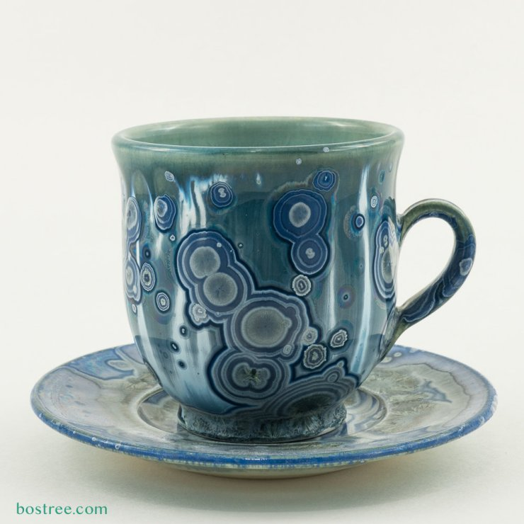 Crystalline Glaze Mug by Andy Boswell #ABCS012