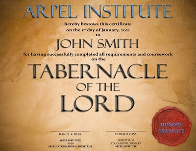 THE TABERNACLE Online Class