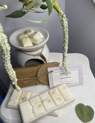 Myrrh & Tonka Soy Wax Melts (6pcs)