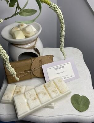 White Linen Soy Wax Snap Bar (2pcs)