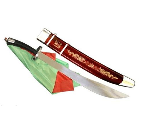 Sable de Wushu Daoshu Original Flexible con funda