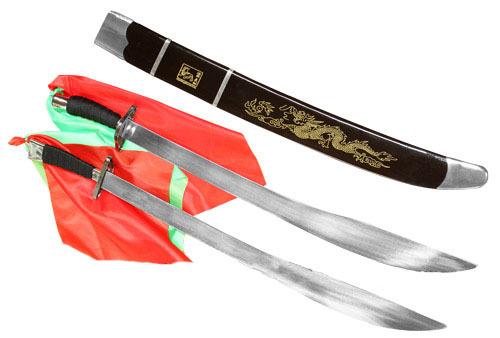 Sables Dobles Semi Firmes de Kung Fu Wu Shu