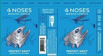 4 Noses Perfect Drift Pilsner 6pk cans