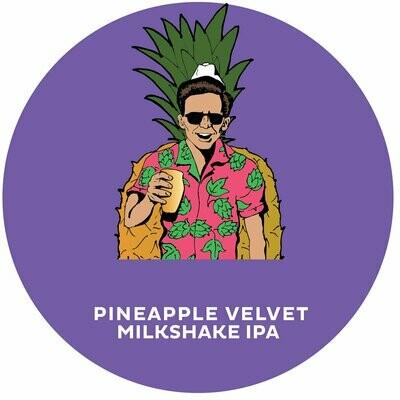 4 Noses Pineapple Velvet Milkshake IPA