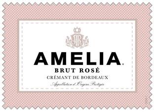 *Amelia Brut Rose 750ml