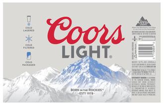 Coors Light Single 16oz