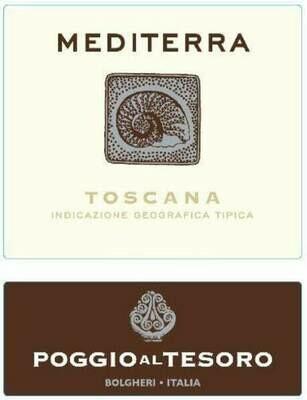 Poggio Al Tesoro Mediterra Toscana 2016