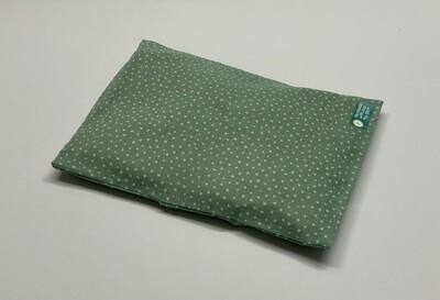 Kissen - Grün, weiße Pünktchen