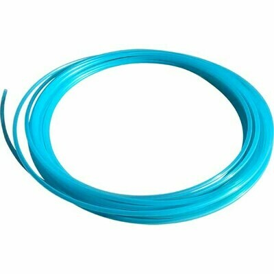 19mm Sky Blue Polypro Hula Hoop Tube, 25m