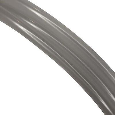 16mm Natural (Clear) Polypro Hula Hoop Tube, 25m