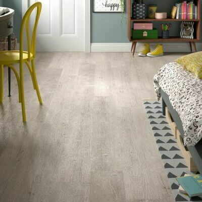 Silver Birch ClicLux LVT Flooring 121.9 x 17.7 cm