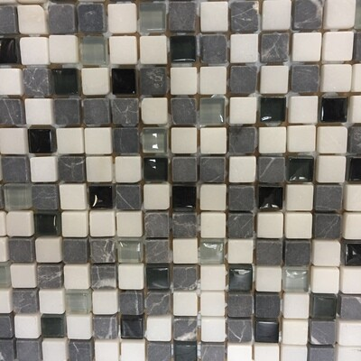 Glass Mosaic Tiles 30 x 30 cm