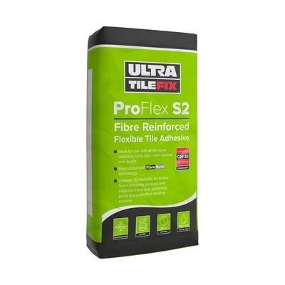 Ultra Tile ProFlex S2 Adhesive Grey