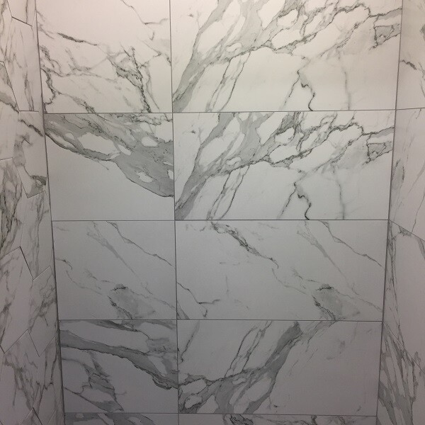 Matt Marble Rectified Porcelain Tiles 60 x 30 cm