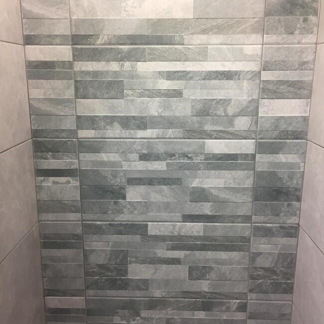 Slate Grey Porcelain Feature Tiles 30.3 x 61.3 cm