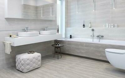 Nordic Grey Porcelain Tiles 60 x 30 cm