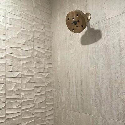 Mosaico Nantes Acero Ceramic 33.3X59.2