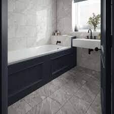 Lora Grey Porcelain Tiles 60 x 30 cm