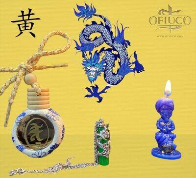 Cuarzo Chino del Dragon Azul