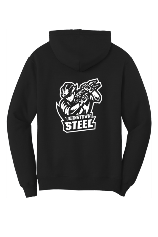 Johnstown Steel Team Logo Hoodie