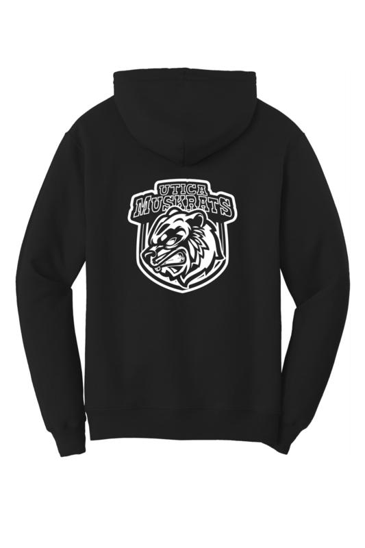 Utica Muskrats Team Logo Hoodie