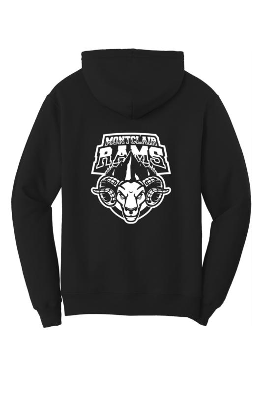Montclair Rams Team Logo Hoodie