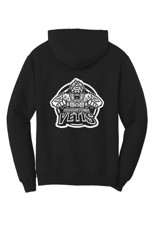 Youngstown Yetis Team Logo Hoodie
