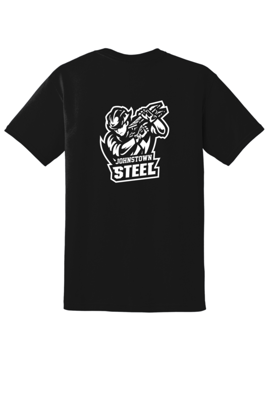 Johnstown Steel Team Logo Tee