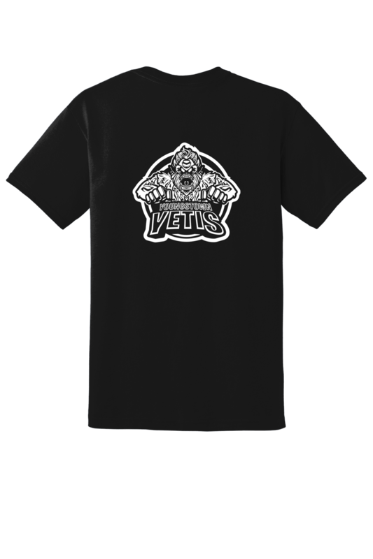 Youngstown Yetis Team Logo Tee