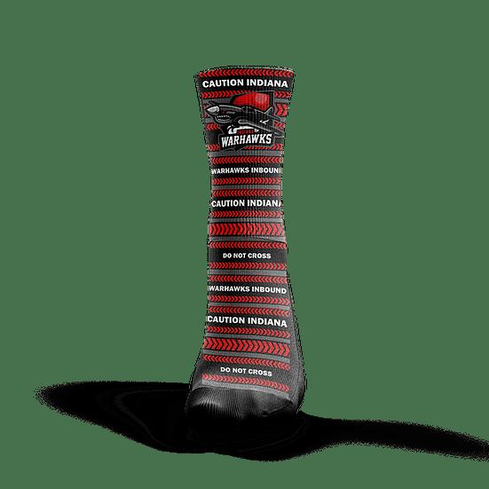 Indiana Warhawks Socks