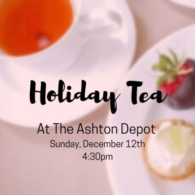 12/12 Holiday Tea
