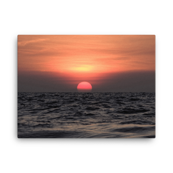 Beejadi Sunset Canvas Print