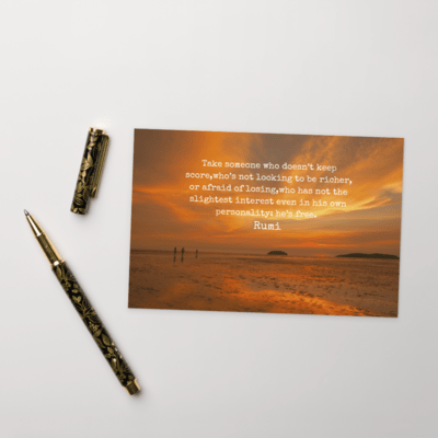 Rumi Postcards from the Heart #9