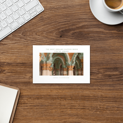 Travel/Quote Postcard #2