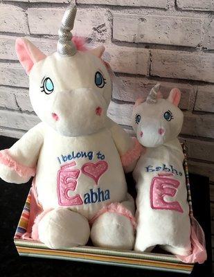 Unicorn & Comforter Gift Basket