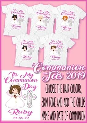 Communion Girl T Shirt
