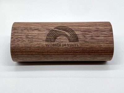 Women in Vinyl + GrooveWasher Walnut Record Cleaning Kit