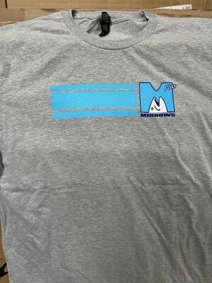 Minnows Plus Baja Logo shirt Size small