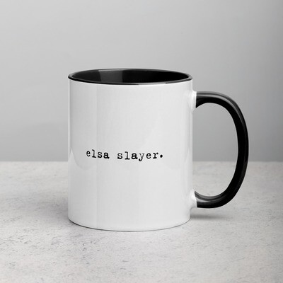 Elsa Slayer mug