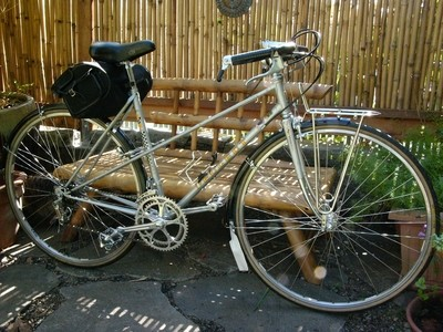 1970's Peugeot Mixte Porteur Reynolds 531 - Free Shipping to U.S.!