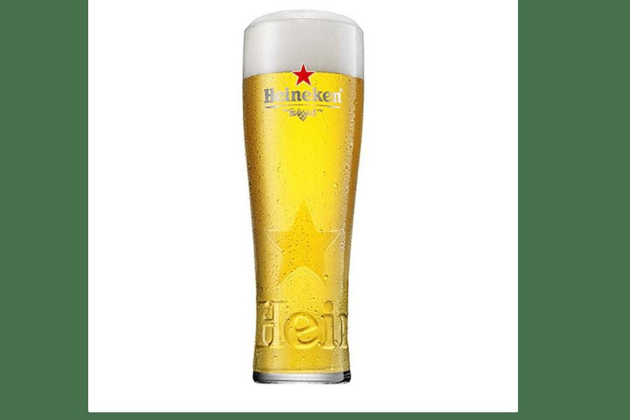 Heineken Pint Glasses (Set of 4)
