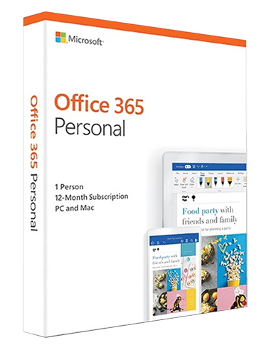 Office 365 Personal 1 año 1PC/1MAC