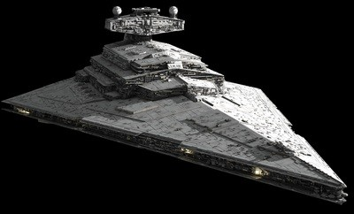 Imperial Star Destroyer - Late model good condition