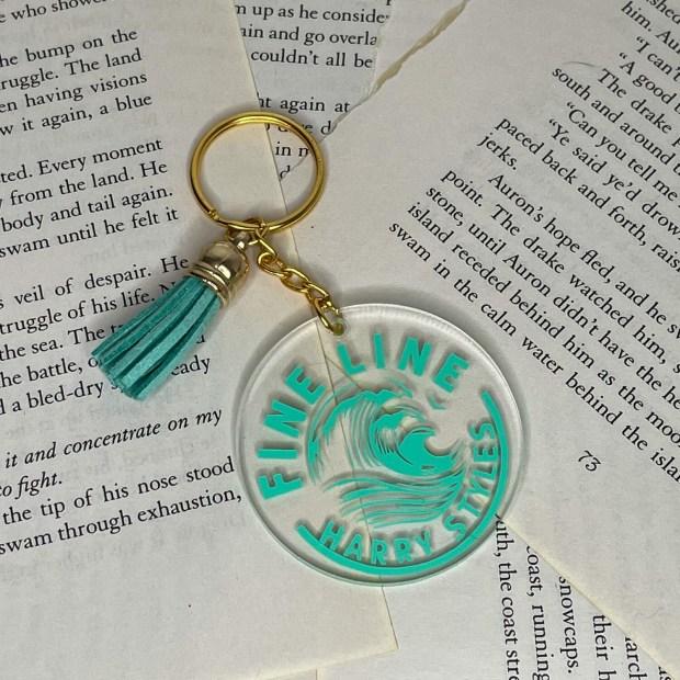 Harry Styles Fine Line Acrylic Keychain