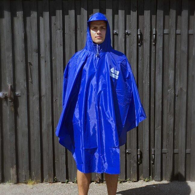 Me-Mover Poncho, blau - Neuware
