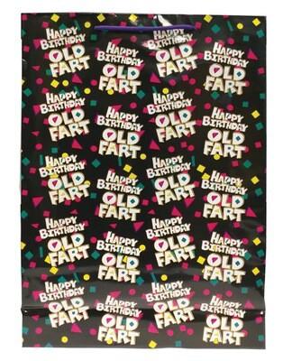 Happy Birthday Old Fart Gift Bag