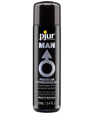 Pjur Man Premium Extreme Silicone Personal Lubricant  - 100 Ml Bottle